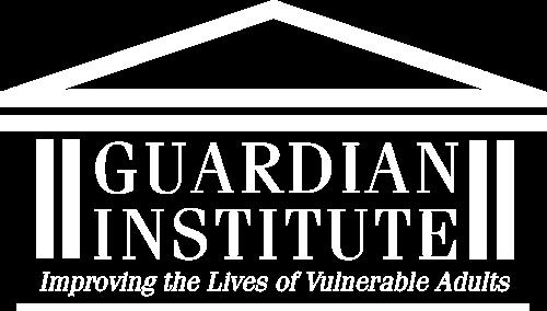 Guardian Institute logo white large